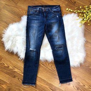 STS Blue Distressed Alice Ankle Skinny Jeans Sz 29